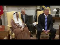 President Trump Meets with the Amir of the State of Kuwait